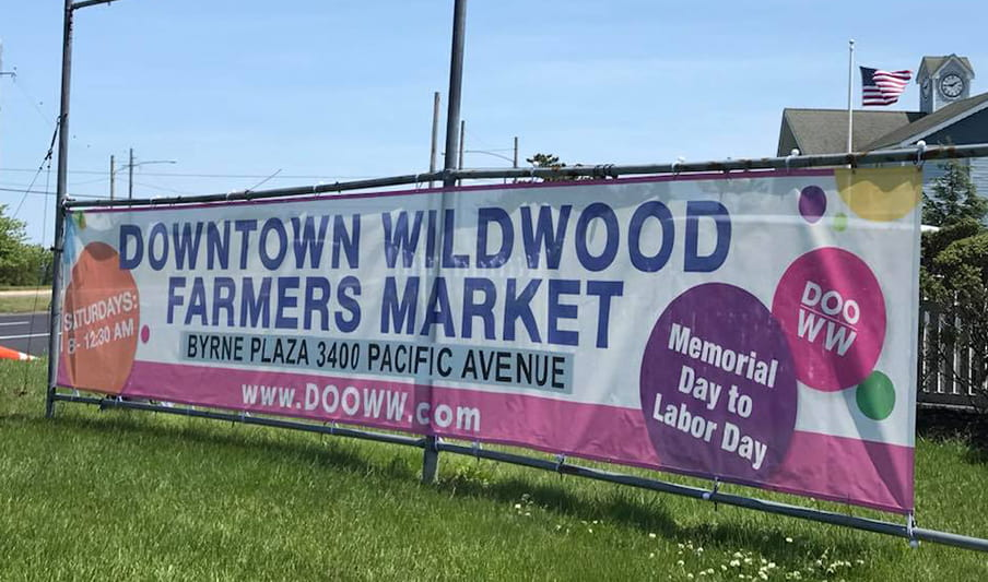 Downtown Wildwood's Farmers Market